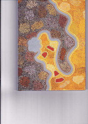 "Aboriginal Blank Book "" Larrgen""  by Peggy Griffiths ( NEW )"