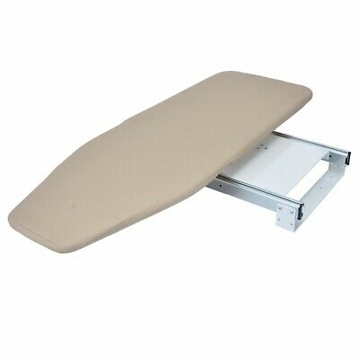 Home Foldable Pull Out Ironing Board Slide Out Swivel Sytle for Wardrobe Drawer