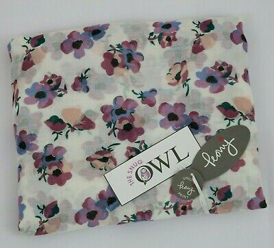PEONY FLORAL SCARF Lilac White Garden Violet Flower Summer Spring Scarves Gifts