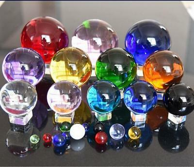 40-200MM Round Glass Crystal Ball Sphere Buyers Select the Size Magic Ball