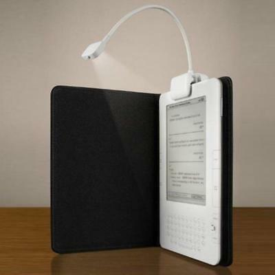 LED Portable BOOK Light Reading Lamp FLEXIBLE Clip On Torch Night Travel Kindle