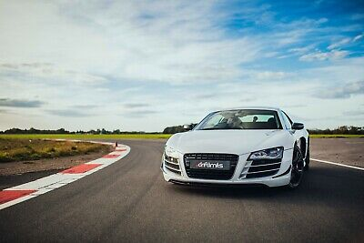 50% Off - 14 Lap Audi R8 Driving Experience - Gift Voucher Present Track Day
