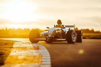 £20 Off - 30 Lap F1000 Single Seat Driving Experience - Gift Voucher Present Car