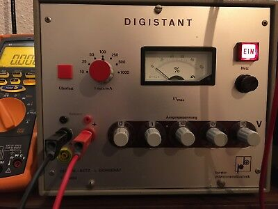 Burster Digistant DC Voltage Standard Calibrator