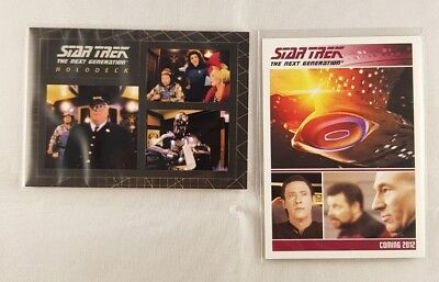 Star Trek TNG The Complete Series TWO, Holodeck Insert card H9, odds 1:8 + P1