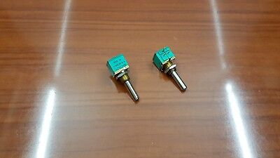 AZTRONIC LINEAR POTENTIOMETER - Gold plated - 1 Turn- 20% - Sold in pack of 2