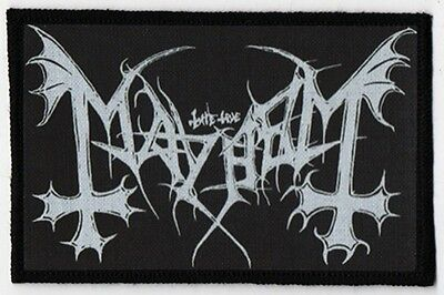 Mayhem Patch / Speed-Thrash-Black-Death Metal