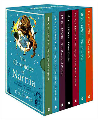 The Chronicles of Narnia books box set - Hardcover by C S Lewis - Brand New