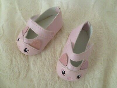 Baby clothes GIRL premature/tiny 5-7.5lbs/2.3-3.4kg pink cat strap shoes C SHOP!
