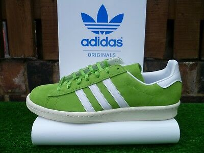 VINTAGE ADIDAS CAMPUS 80 NIGO 80s casuals APPLE COLOURWAY UK8.5 2014 RARE LOOK!