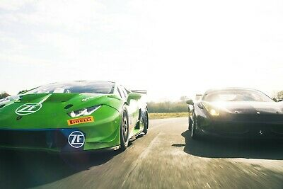 50% Off Two Secret Supercar Experience - Gift Voucher Present Track Day Driving