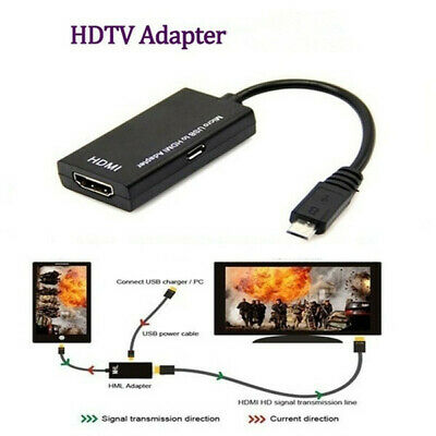 Universal Micro Usb To Hdmi Cable 1080 P Hd Tv Adapter For Android Phones