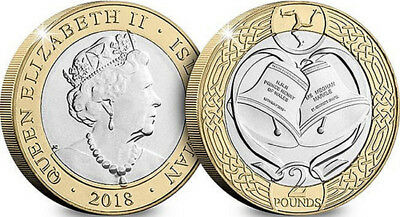 2018 ISLE OF MAN Royal Wedding harry and megan  £2 Coin iom manx ..cheapest