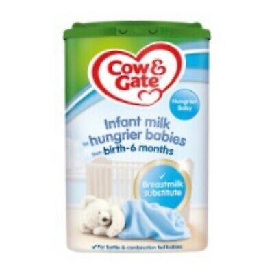 Cow And Gate Milk For Hungrier Babies 6X800G Powder Milk Free Shipping