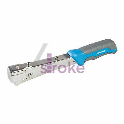 Heavy Duty Hammer Tacker 6 - 10mm Type 10J With Hardened High Carbon Steel Parts