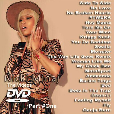 Nicki Minaj PART ONE MUSIC VIDEOS HIP HOP R&B RAP DVD