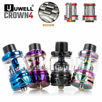 UWELL Crown4 Tank 5 / 6 ML -ORIGINAL- Clearomizer e Zigarette Shisha Verdampfer