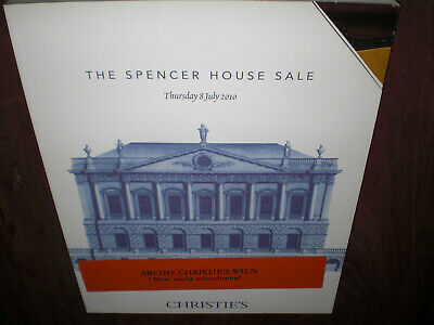 .   Spencer   House  Sale    .   English   Furniture   .   Auktionskatalog   .