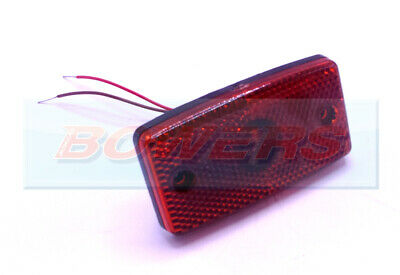 Eurolites Leart 24V Volt Red Led Side Marker Reflective Light Lamp