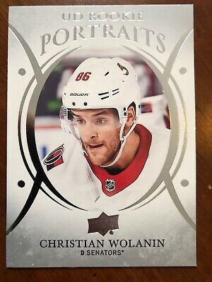 18-19 UD Series 2 Rookie Portraits #P-59 Christian Wolanin