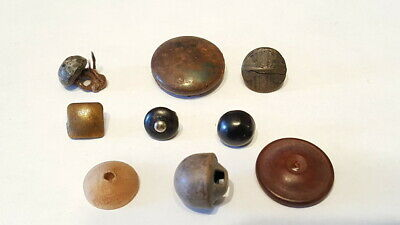 19th Century Late 1800s Early 1900s Antique Vintage Buttons Lot