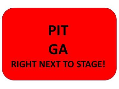 THE KILLERS Tickets Oklahoma City 5/7  ~ PIT GA~GET TO STAGE AS CLOSE AS WANT