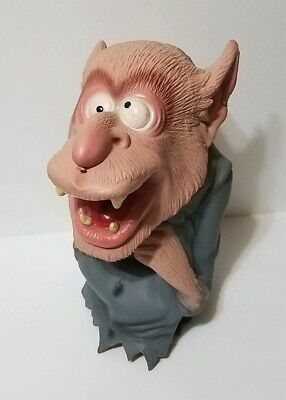 Rare Vintage Mask Illusions Werewolf Hand puppet 1992 Mexico