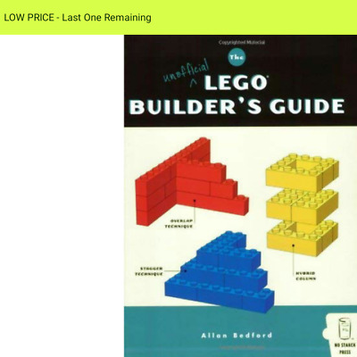 Unofficial LEGO Builder's book excellent BUILD YOUR OWN LEGO     ■ WAS  £19.99 ■