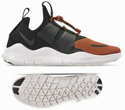New NIKE Free RN Commuter 2018 Men's Athletic Shoes black rust orange all sizes