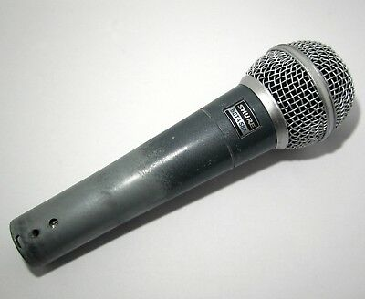 Shure BETA 58A Super Cardioid Dynamic Vocal Wired Microphone