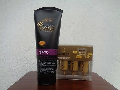 Pantene ampoules hair rescue + Pantene age defy conditioner NEW!!!