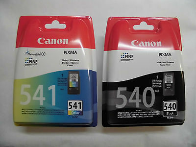 "Original CANON Set  PG540 + CL541 ""Neu"""