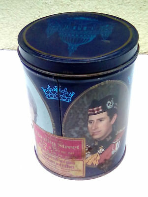 Prince Charles And Lady Diana Vintage Sweet Tin
