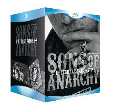 Coffret Blu Ray Neuf - Serie  : Sons Of Anarchy - L'integrale Des Saisons 1 A 5