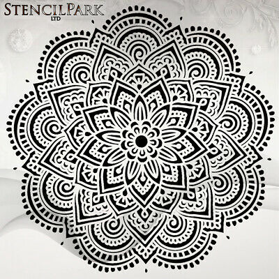 Mandala Ornament Art Craft Stencil Decor Size A5 4 3 2 1 //249
