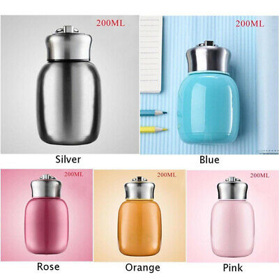 Stainless Steel Vacuum Flask Thermos Water Bottle Coffee Mini Travel Mug Cup G
