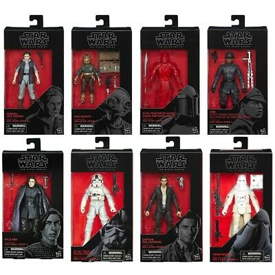 "D3 Star Wars Hasbro Black Series 6"" The Last Jedi At At Driver complete Set AS68"
