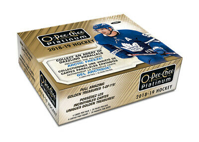 2018-19 Upper Deck O-Pee-Chee Platinum Hockey Hobby Box New/Sealed