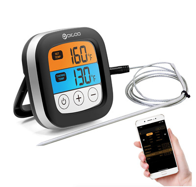 Touch Screen Bluetooth Cooking Meat Thermometer DG-FT2103 BBQ
