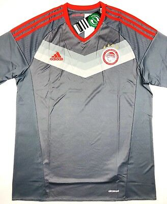 cbc09f9b1 NWT OLYMPIACOS FC 2016 17 L Away Soccer Jersey Football Shirt Greece Piraeus