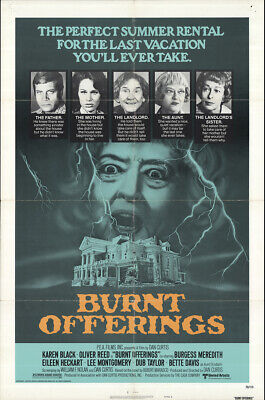 Burnt Offerings 1976 27x41 Orig Movie Poster FFF-64069 Oliver Reed Horror