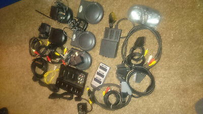 Job Lot of A/V Cables, SCART, Video Transmitter / Receiver Equipment etc