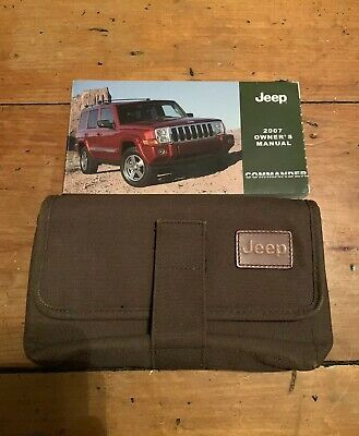 2007 Jeep Commander Owners Manual With Case