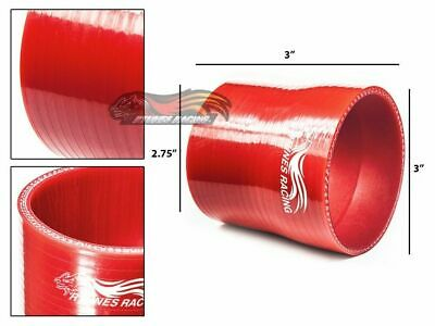 "3"" To 2.75"" Silicone Hose/Intake/Intercooler Pipe Coupler RED For Mercedes Benz"
