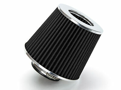 "2.5"" Cold Air Intake Filter Round BLACK For Panel/Phaeton/Pickup/Karmann Ghia"