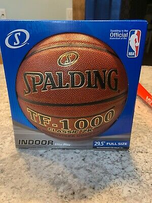 28b39335e5e Spalding TF-1000 Classic Indoor Basketball - Official Size 7 (29.5