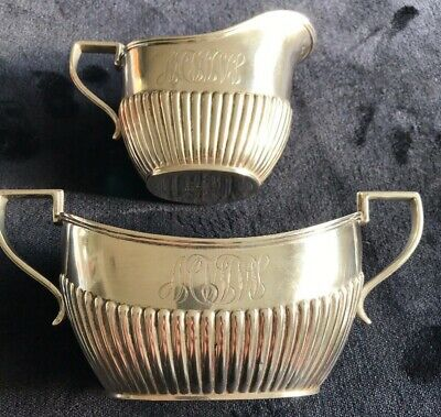Antique 800 Silver Serving Gravy/Dressing Set By German Designer Mono WMW
