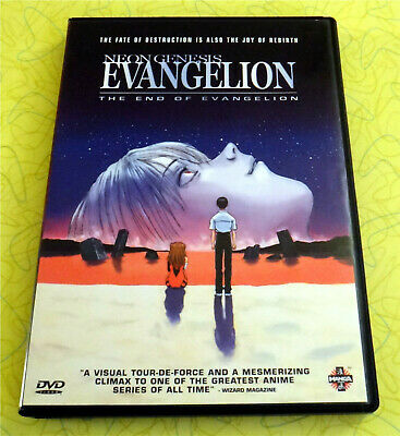 Neon Genesis Evangelion: The End of Evangelion ~ DVD Movie ~ Rare Anime Video