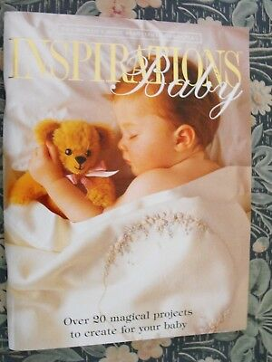 Inspirations Embroidery Magazine - Inspirations Baby - Excellent Condition