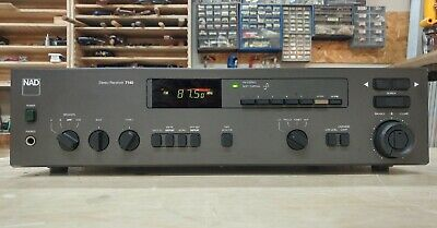 Vintage NAD 7140 Stereo Receiver with phono stage